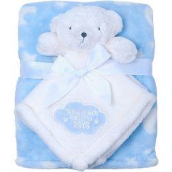 Baby Gear Baby Boys 2-pc. Thank Heaven Bear Blanket Set