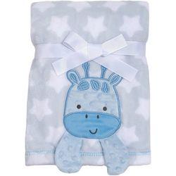 Baby Gear Baby Boys Giraffe & Stars Blanket