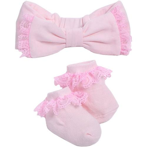 f70b19ad0 Kyle & Deena Baby Girls 2-pc. Lace Headband & Socks Set | Bealls Florida