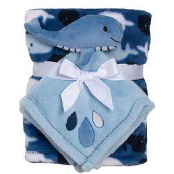 Cutie Pie Baby Baby Boys 2-pc. Blanket & Shark Buddy Set
