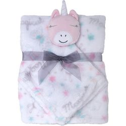 Cutie Pie Baby Baby Girls 2-pc. Blanket & Unicorn Buddy Set