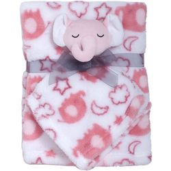 Cutie Pie Baby Baby Girls 2-pc. Blanket & Elephant Buddy Set