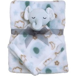 Cutie Pie Baby Baby Boys 2-pc. Blanket & Elephant Buddy Set