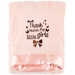 Mini Muffin Baby Girls Thank Heaven For Little Girls Blanket