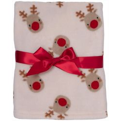 Cutie Pie Baby Reindeer Blanket