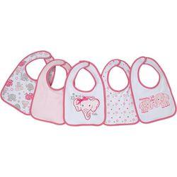 Cutie Pie Baby Baby Girls 5-pk. Grandpas Lil Cutie Bibs