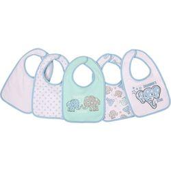 Cutie Pie Baby Baby Boys 5-pk. Grandpas Lil Star Bibs