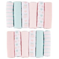 Baby Gear Baby Girls 12-pk. Owl Washcloths