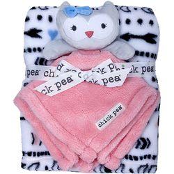 Chick Pea Baby Girls 2-pc. Owl Nunu & Blanket Set