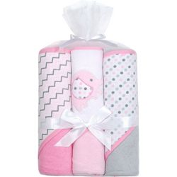 Kyle & Deena Baby Girls 3-pk. Elephant Hooded Towels