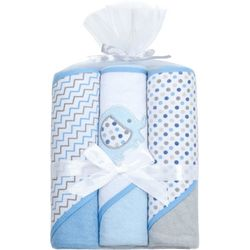 Kyle & Deena Baby Boys 3-pk. Elephant Hooded Towels