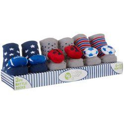 Baby Gear Baby Boys 3-pk. Sports Rattle Socks