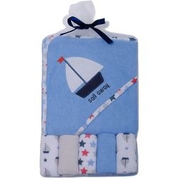 Baby Gear Baby Boys 6-pc. Sail Away Hooded Towel Set