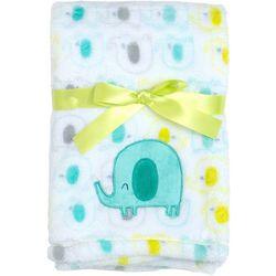 Baby Gear Baby Boys Elephant Velboa Blanket