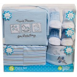 Baby Gear Baby Boys 5-pk. Boxed Gift Set