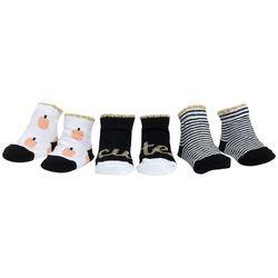 Mini Muffin Baby Girls 3-pk. Cute Striped Socks