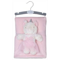 Chick Pea Baby Girls 2-pc. Plush Unicorn & Blanket Set