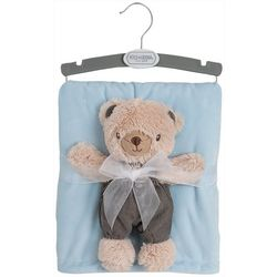 Chick Pea Baby Boys 2-pc. Plush Bear &