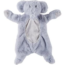 Kelly Baby Baby Boys Plush Elephant Flattie & Rattle Toy