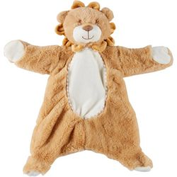 Kelly Baby Baby Boys Plush Lion Flattie & Rattle Toy