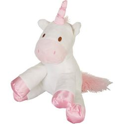 Kelly Baby Baby Girls Plush Unicorn Rattle Toy