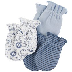 Carters Baby Boys 3-pk. Animal Mittens