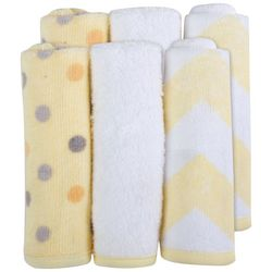 Baby Essentials Cuddle Bear Collection 6-pk. Washcloths