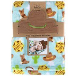 Baby Essentials Baby Boys 2-pc. Photo Op Cowboy Set