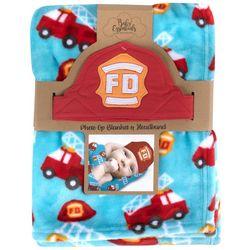 Baby Essentials Baby Boys 2-pc. Photo Op Firefighter Set