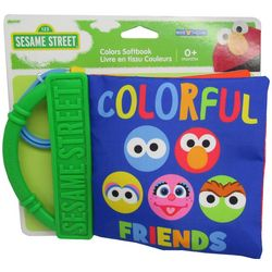 Kids Preferred Sesame Street Colorful Friends Color Softbook