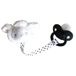 Carters Baby Lamb Pacifier Clip with Pacifier