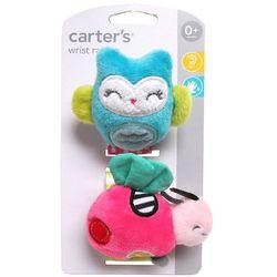 Carters Baby Girls 2-pk. Owl & Ladybug Wrist Rattles