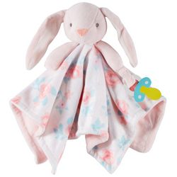 Carters Bunny Cuddle Plush Blanket Toy
