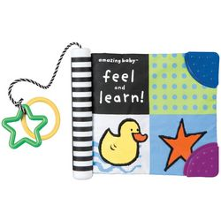 Kids Preferred Amazing Baby Feel and Learn Soft Book