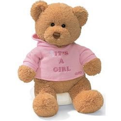 Gund It's A Girl Bear Plush Toy