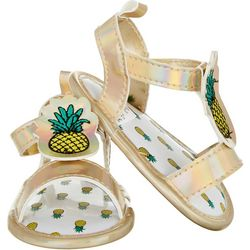 Stepping Stones Baby Girls Pineapple Sandals
