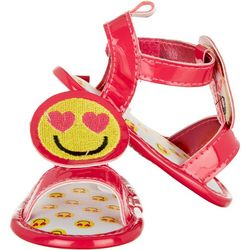 Stepping Stones Baby Girls Emoji Sandals