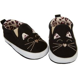 Stepping Stones Baby Girls Cat Slip-On Sneakers