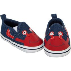 Stepping Stones Baby Boys Crab Slip-On Sneakers