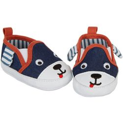 Stepping Stones Baby Boys Dog Slip-On Sneakers