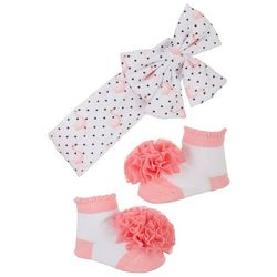 Nicole Miller New York 2-pk. Flamingo Headband & Socks Set