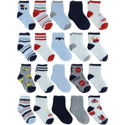 Capelli Baby Boys 20-pk. On The Move Socks