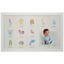 Little Me Baby's First Year12-Slot Wall Photo Frame