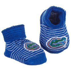 Florida Gators Newborn Baby Unisex Team Booties