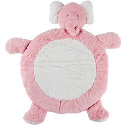 Babys First Play Date Baby Girls Elephant Tummy Time Playmat