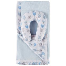 Cloud 9 Baby Boys 2-pc. Arrow Blanket & Support Pillow