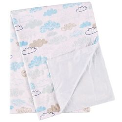 Natural Wonders Baby Boys Clouds Baby Blanket