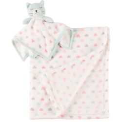 Darling Hearts Baby Girls 2-pc. Kitty Heart Blanket Set