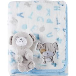 Tag Along Friends Baby Boys Puppy Blanket & Plush Toy