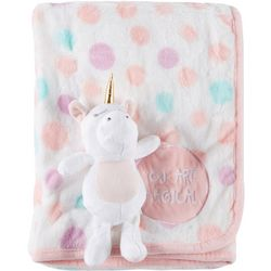 Tag Along Friends Baby Girls Magical Blanket & Plush Toy